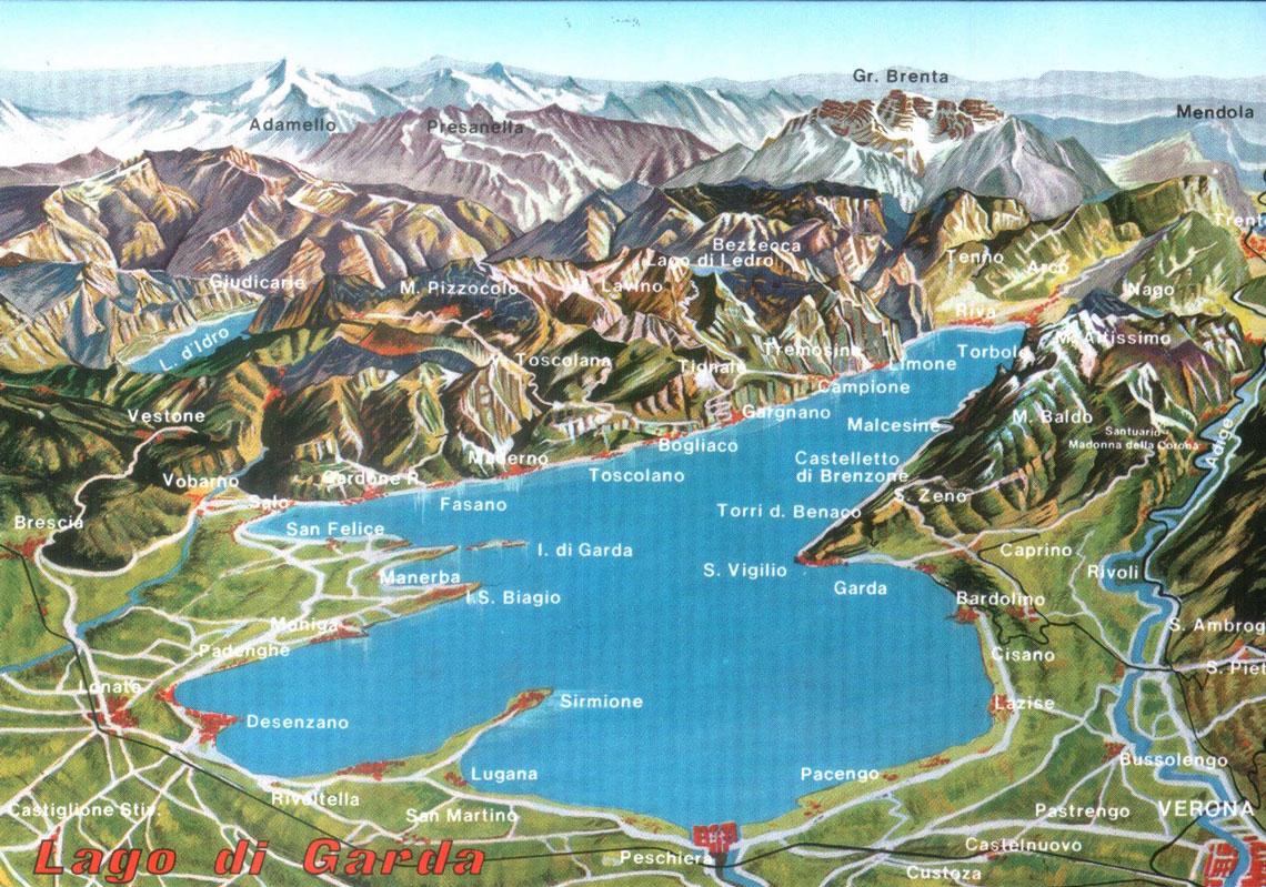 Cartina Lago Di Garda E Dintorni.Lago Di Garda Vivaio Dei Molini